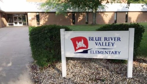 (Image courtesy of the Blue River Valley School Corp. in New Castle.)