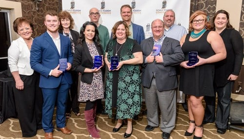 (Image of 2018 winners courtesy of the Indiana Tourism Association.)