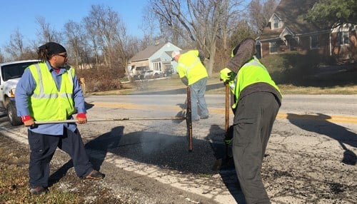 (Image courtesy of the Indianapolis Department of Public Works.)