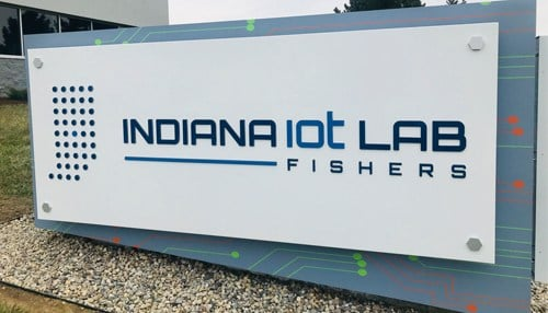 The Indiana IoT Lab officially opened in March.