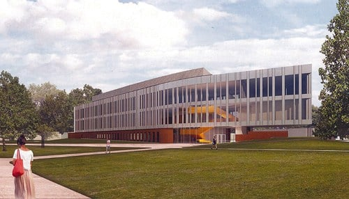 The Bioscience Innovation Building will be the first new construction on the campus in the last 25 years.