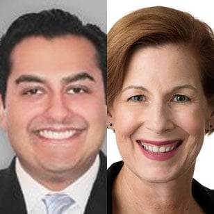 Deepak Lalwani and Renee Sullivan