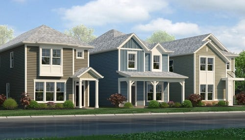 (Rendering courtesy of M/I Homes Indianapolis.)