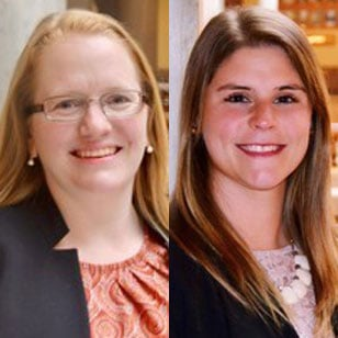 (Images of Suzi Spahr [pictured left] and Dana Kosco [pictured right] courtesy of the Indiana State Department of Agriculture.)