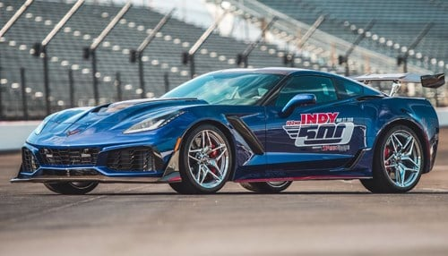 Official pace auto of 102nd Indianapolis 500 unveiled