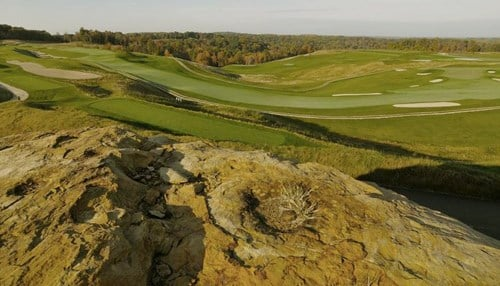 (Image of The Pete Dye Course at French Lick courtesy of The Pete Dye Golf Trail.)