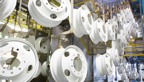 mefro wheels manufactures steel wheels for the commercial vehicle industry. (photo courtesy Accuride)