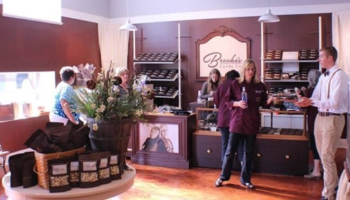(Image of Terre Haute location's 2016 grand opening courtesy of Brooke's Candy Co.)
