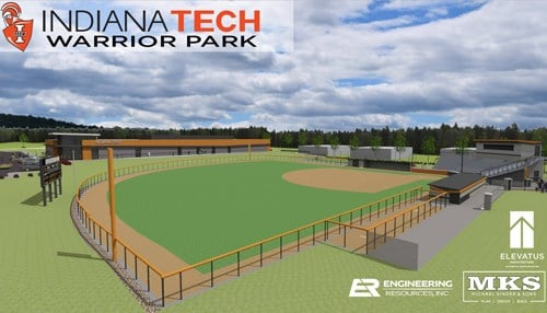 (Rendering courtesy of Indiana Tech.)