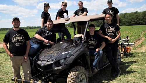 (Image of Purdue University team courtesy of agBOT Challenge.)