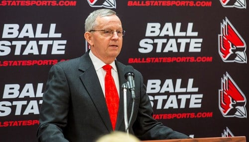 Mark Sandy became Ball State's director of intercollegiate athletics in 2015.