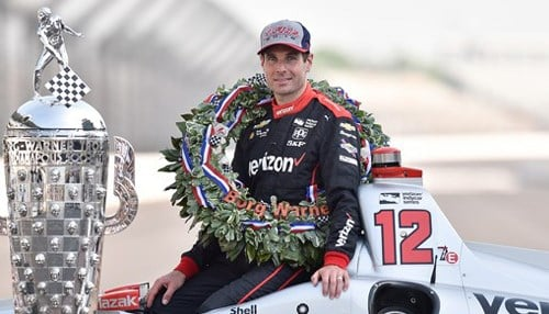 Power is the first Australian winner of the Indy 500.