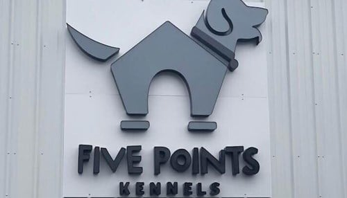 Five Points Kennels added 12,000 square feet of space to its facility, doubling its footprint on the southeast side of Indianapolis.