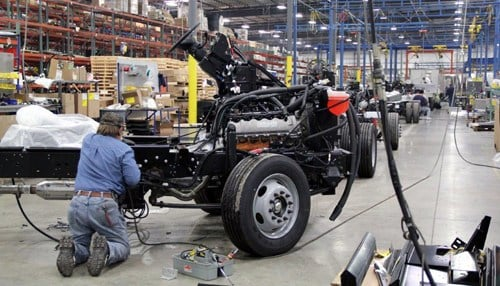 (image courtesy of Manufacturing courtesy of the Economic Development Corp of Elkhart County.)