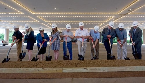 Construction is expected to take 18 months to complete. (photo courtesy Caesars Entertainment)