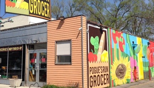 Pogue's Run Grocer opened in 2010.