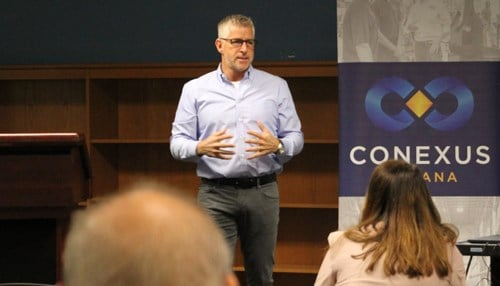 Mark Howell serves as CEO of Conexus Indiana.