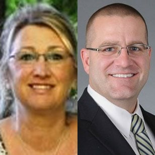Sue Clevenger and Jeremy Murchland
