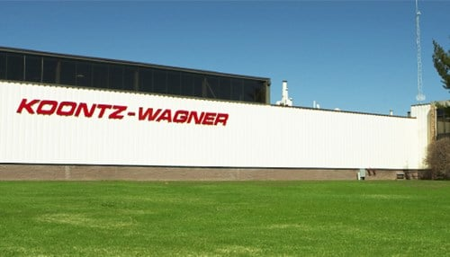 Koontz-Wagner Custom Holdings and Koontz-Wagner Services shared a facility in South Bend. (photo courtesy KW Services LLC)