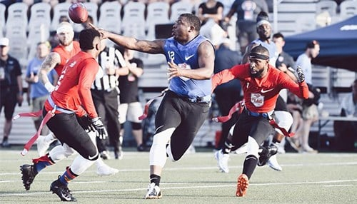 (photo courtesy American Flag Football League)