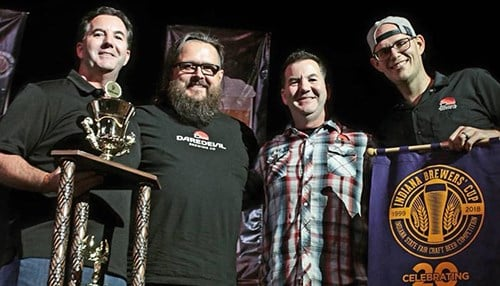 Daredevil Brewing Co. was named Grand Champion Brewery of the Year. (photo courtesy Indiana State Fair)
