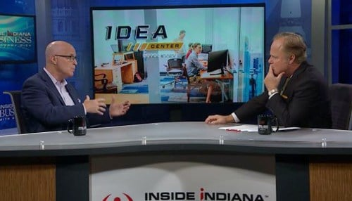 In an interview on Inside INdiana Business with Gerry Dick, Ritchie talked about Notre Dame's increasing engagement in economic development.