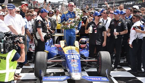 (Image courtesy of the Indianapolis Motor Speedway.)