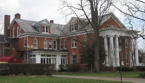 Evansville's Rathbone home to be renovated into multiuse facility (photo courtesy of Historic Evansville)