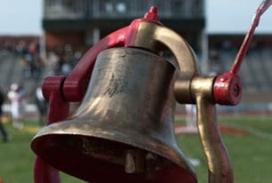 DePauw University and Wabash College have played 124 times in the Monon Bell Classic.