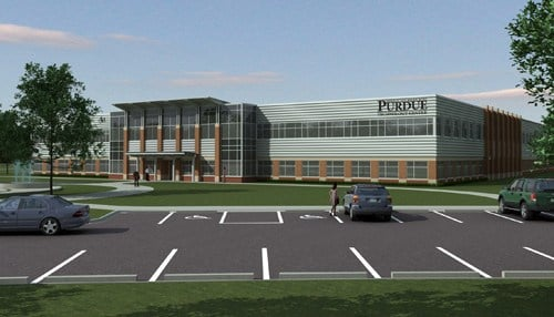 DelMar Software Development will move into the Purdue Research Park's expanded Technology Center when it's complete.