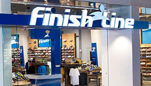 The Finish Line has lowered its outlook for the fiscal year, expecting a sales decrease of 3-5 percent.
