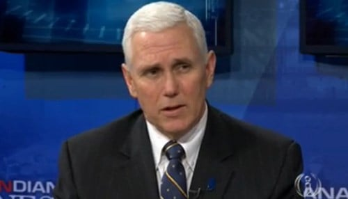 Pence pushed hard during the legislative session for approval and funding of the initiative.