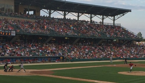 The Indians set a regular season attendance record in 2015.