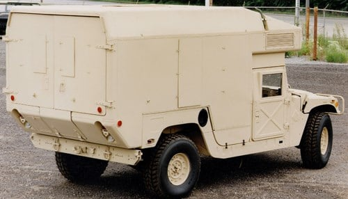 The company also recently landed a $430 million deal for ambulance chassis Humvees for disaster relief work.