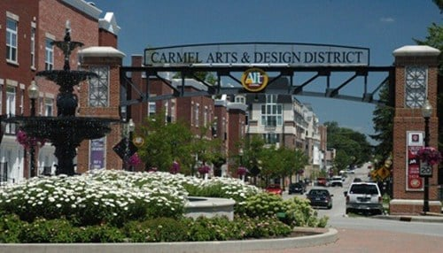 The chamber named Carmel its Community of the Year in September.