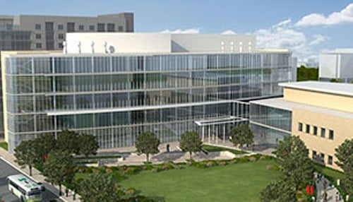 The IU Medical School campus could occupy six blocks and serve up to 1,800 students.