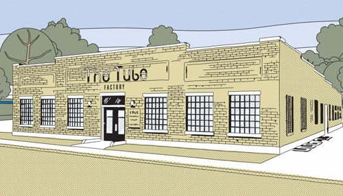The project will also support the Tube Factory community gathering space.