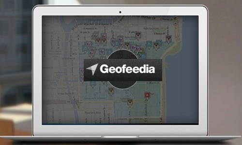 Geofeedia says more than 450 organizations and companies use its subscription-based platform.