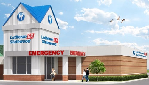 The ER will have five treatment rooms, a major exam room and decontamination room, as well as general X-ray, CT and lab services.