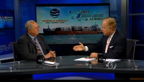 """Ports of Indiana CEO Rich Cooper says the summit, which will be September 21 and 22 at the Indiana Convention Center, has """"something for everybody."""""""