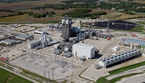 The $3.5 billion plant began operations in June 2013.