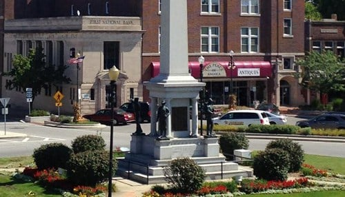 The city of Angola was tops among Indiana cities on the list.