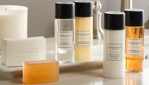 The company is one of the largest providers of luxury personal care items to hotels in the world.