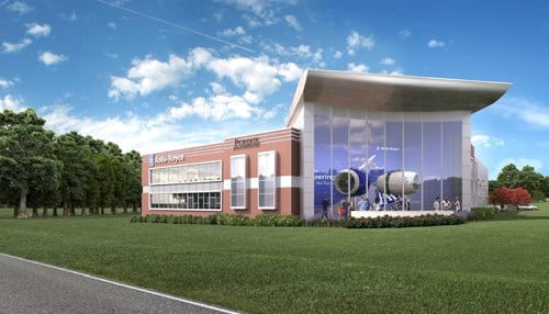 The building will include space for other interested companies.