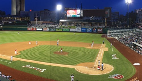 The TinCaps have won the Midwest League's Grounds Crew of the Year six of the last eight years.