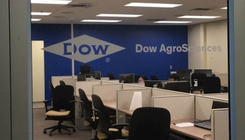 The center builds on a long-standing relationship between the university and Dow AgroSciences parent, The Dow Chemical Co.