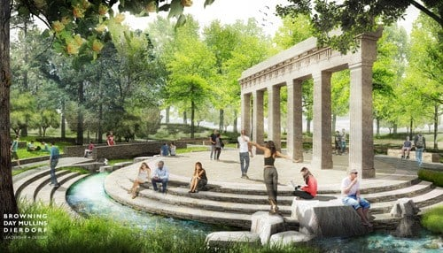 The school says Prebys' gift, which will fund efforts including a new amphitheater, will be administered by the IU Foundation.