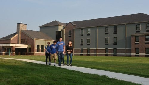 Ancilla College opened its first residence hall this year.