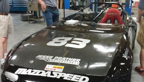 Students will prepare the new car for Sports Car Club of America amateur racing events.