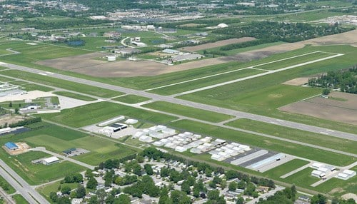 (Image Courtesy of the Porter County Regional Airport Facebook Page)